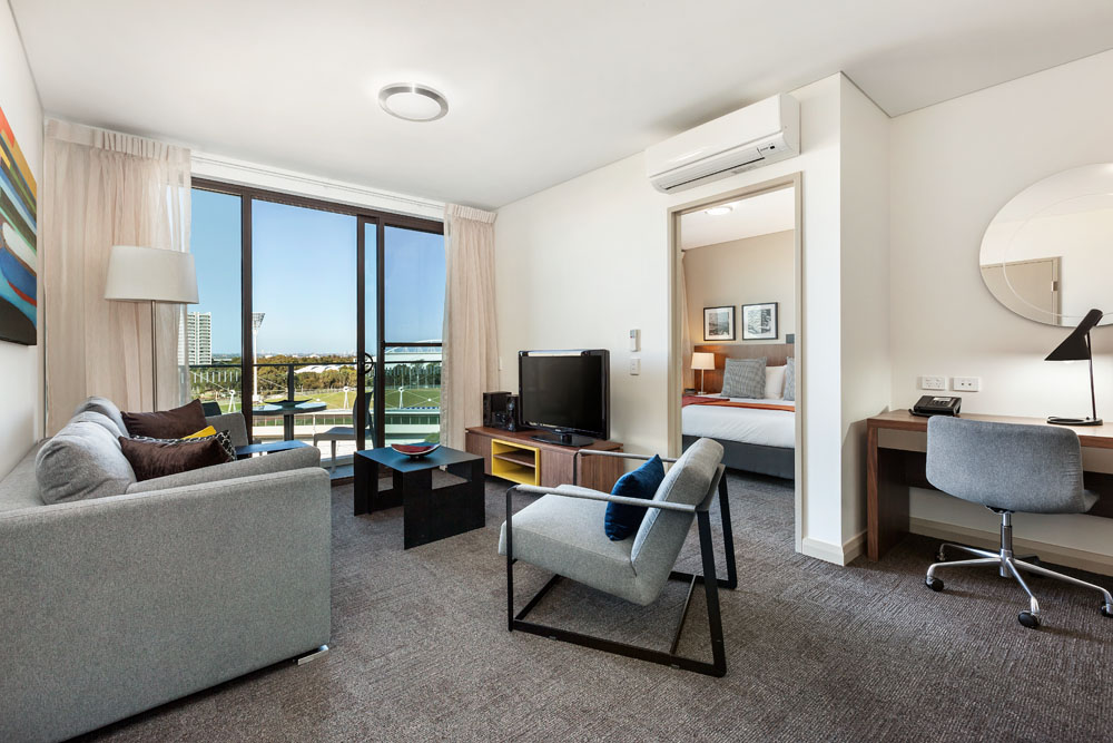 accommodation in sydney olympic park serviced apartments. Black Bedroom Furniture Sets. Home Design Ideas