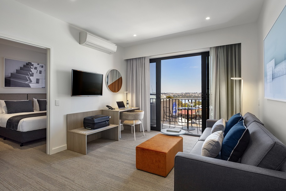 Quest Joondalup 1 bedroom Lounge