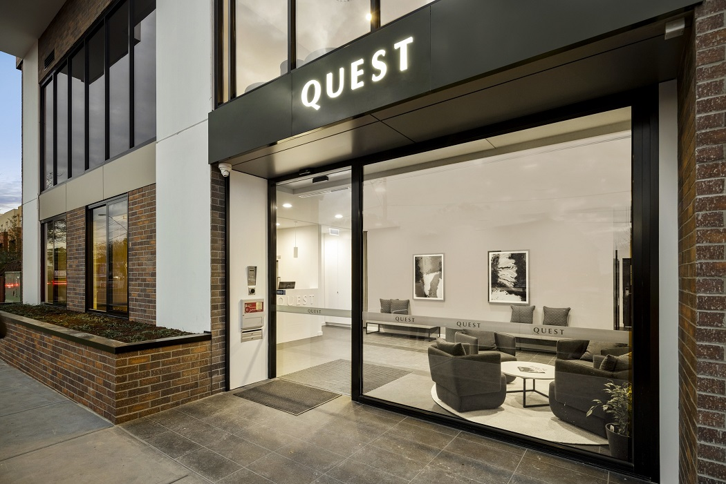 Quest Maribyrnong Entrance