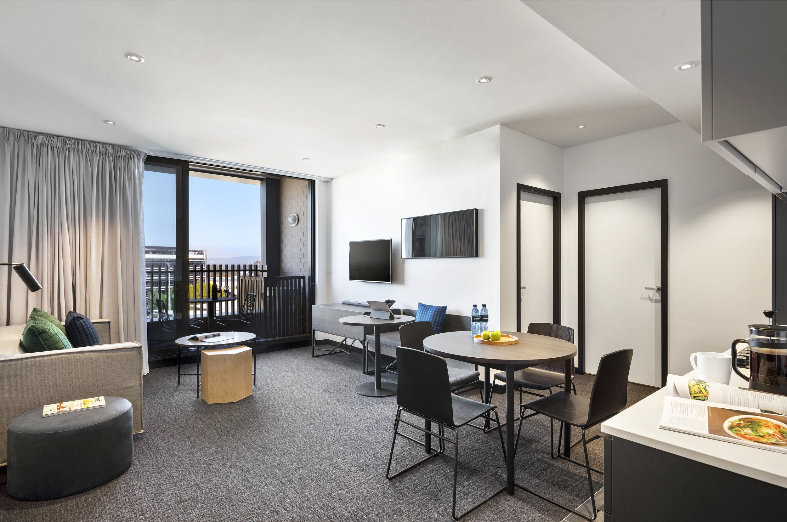 Quest Penrith | One Bedroom Apartment - Kitchen, Dining & Living