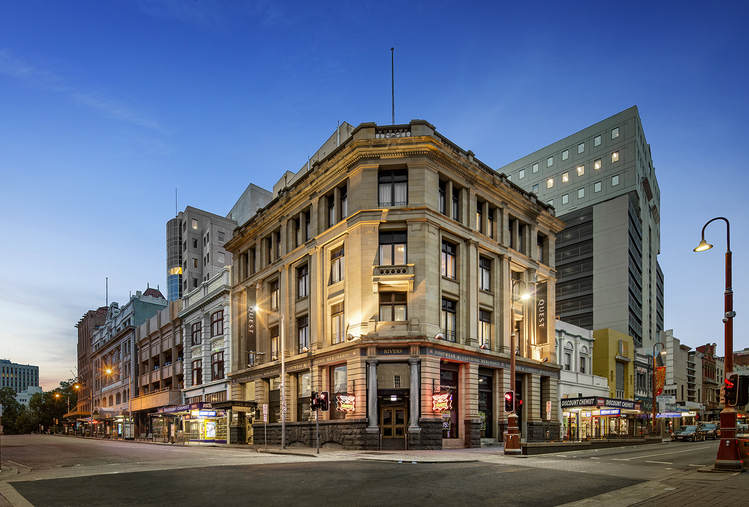 Hobart Serviced Apartments | Hobart Accommodation | Quest Savoy Apartment Hotel