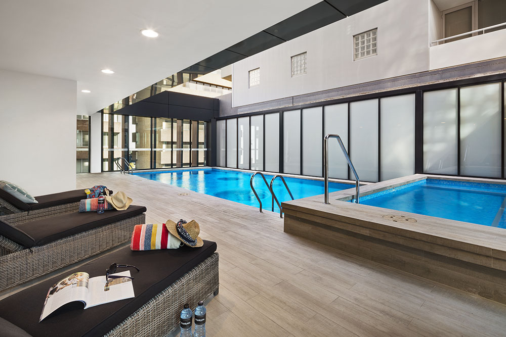 St leonards serviced apartments st leonards - Swimming pool maintenance auckland ...