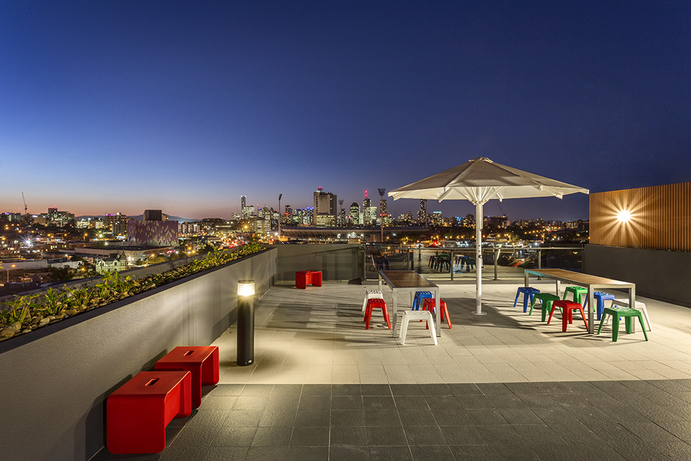 Quest Woolloongabba Roof Top