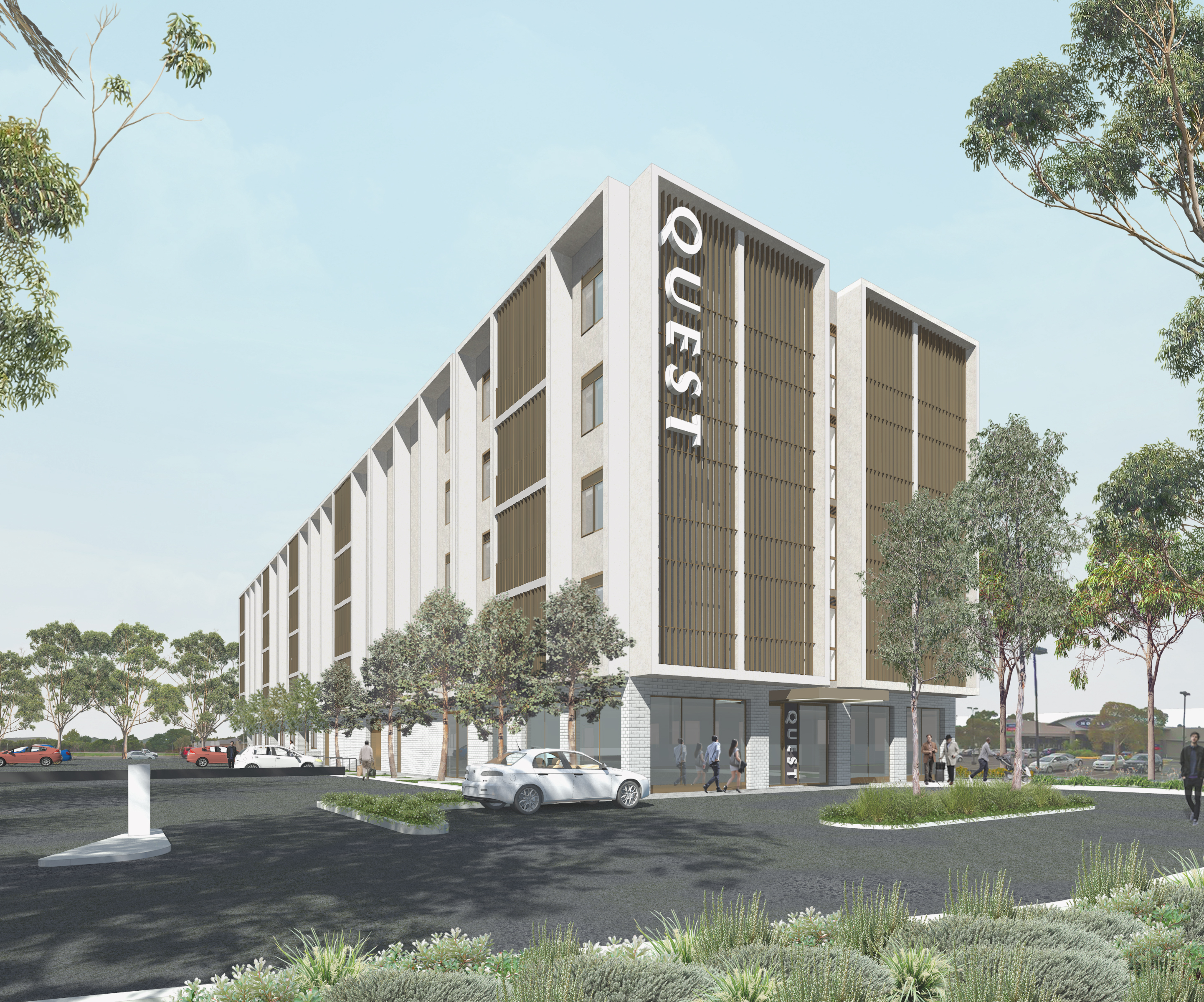 Quest Watergardens | Artist Impression