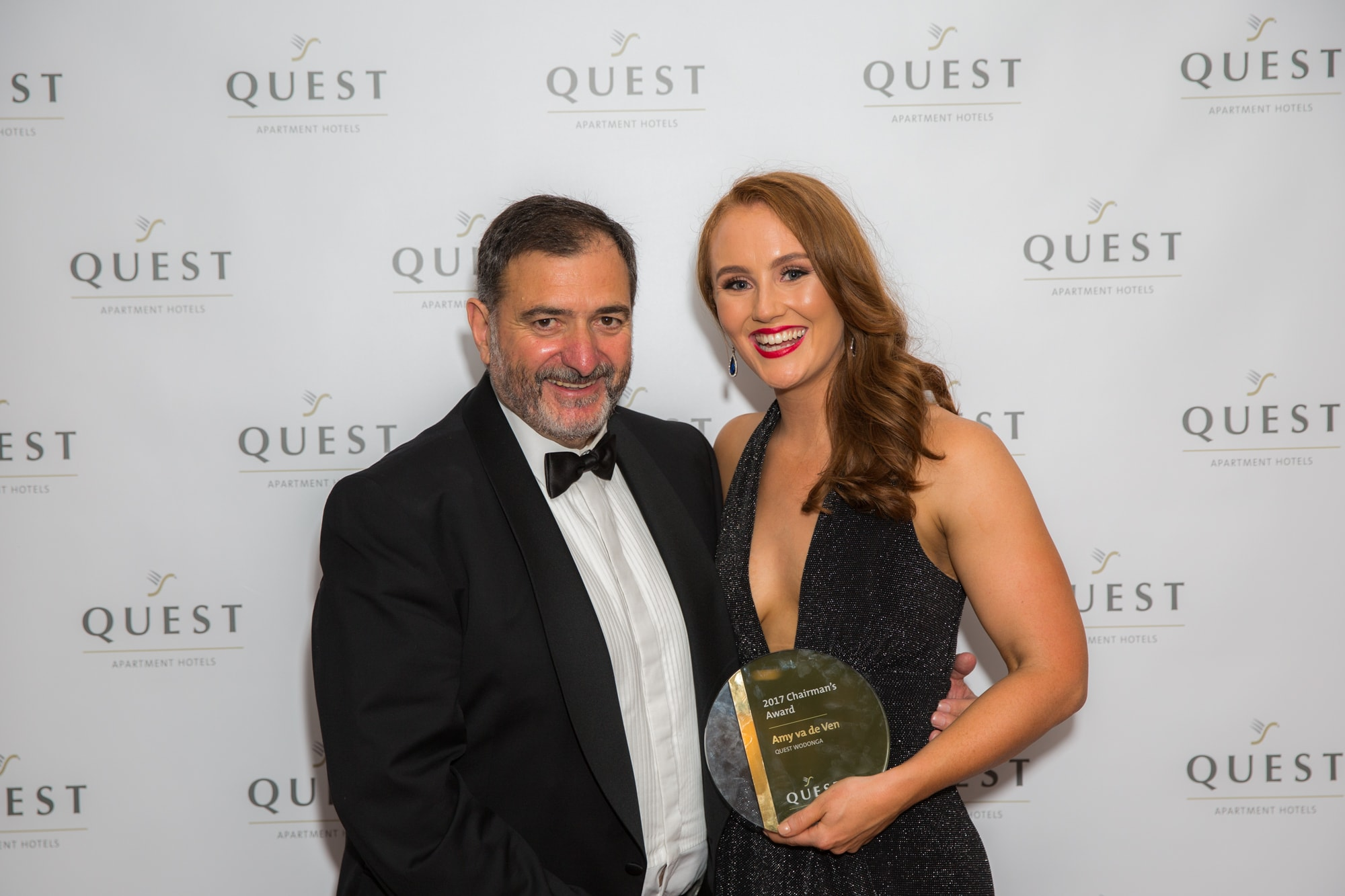 Quest Chairmans Award - Amy van de Ven