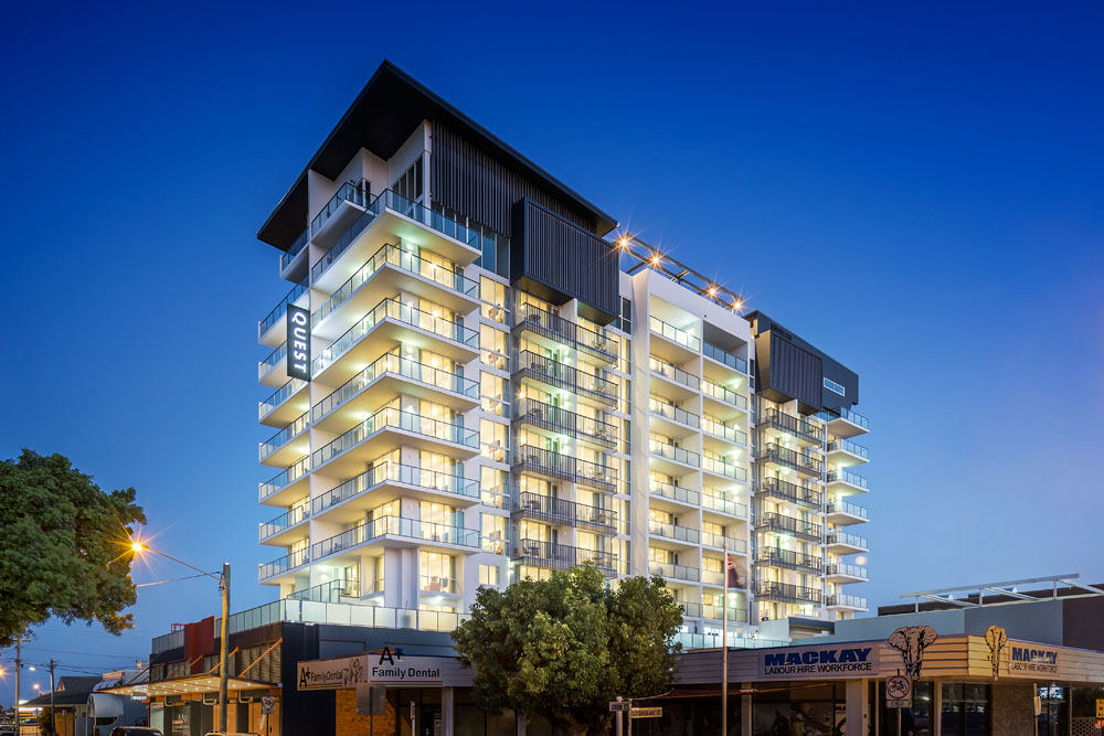 Mackay Serviced Apartments Mackay Accommodation Quest