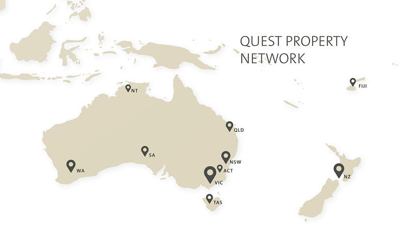Quest Apartment Hotels - Network Locations -AUNZ